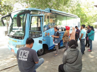 Bus Samsat Keliling Setiap Selasa Jam: 09.00-12.00 WIB, Tempat : Utara Lapangan Minggiran