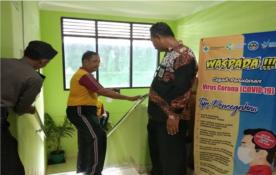 Waspada Corona, Kecamatan dan Polsek Mantrijeron Laksanakan Bersih-Bersih Wilayah