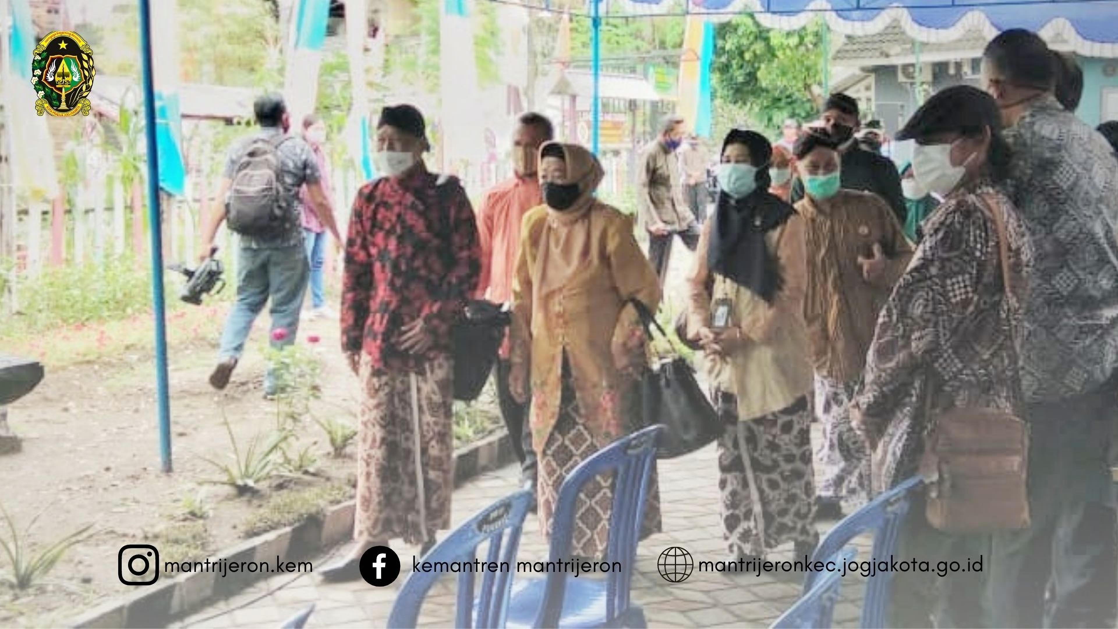 Kelomtan Ngudi Mulyo Suryodiningratan Mewakili Kota Yogyakarta dalam Lomba Lumbung Mataraman 2021