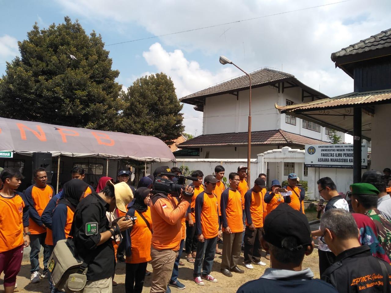 Pengukuhan Kampung Tangguh Bencana (KTB) Gedongkiwo oleh Wakil Walikota Yogyakarta
